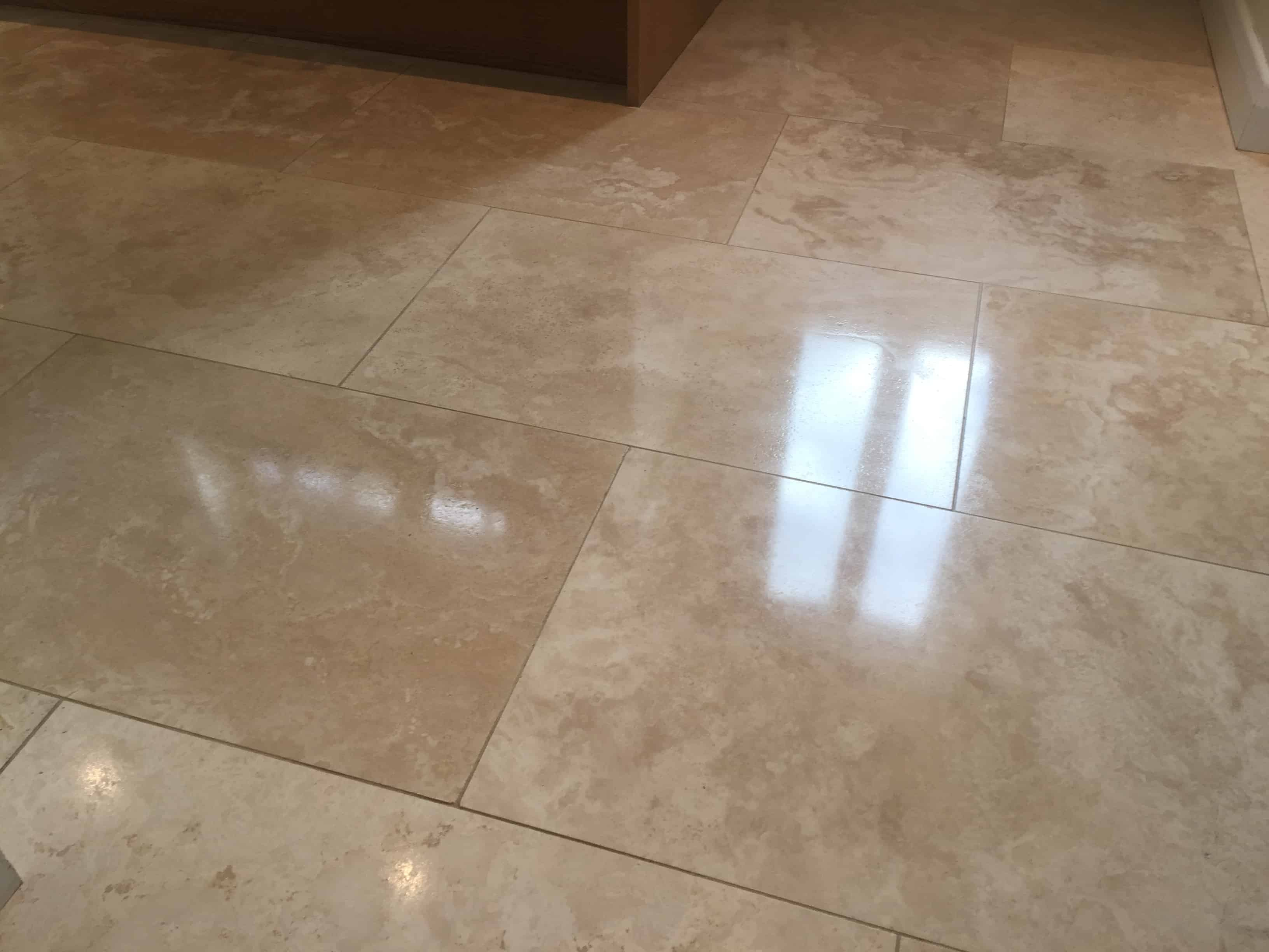 travertine floor restoration services London