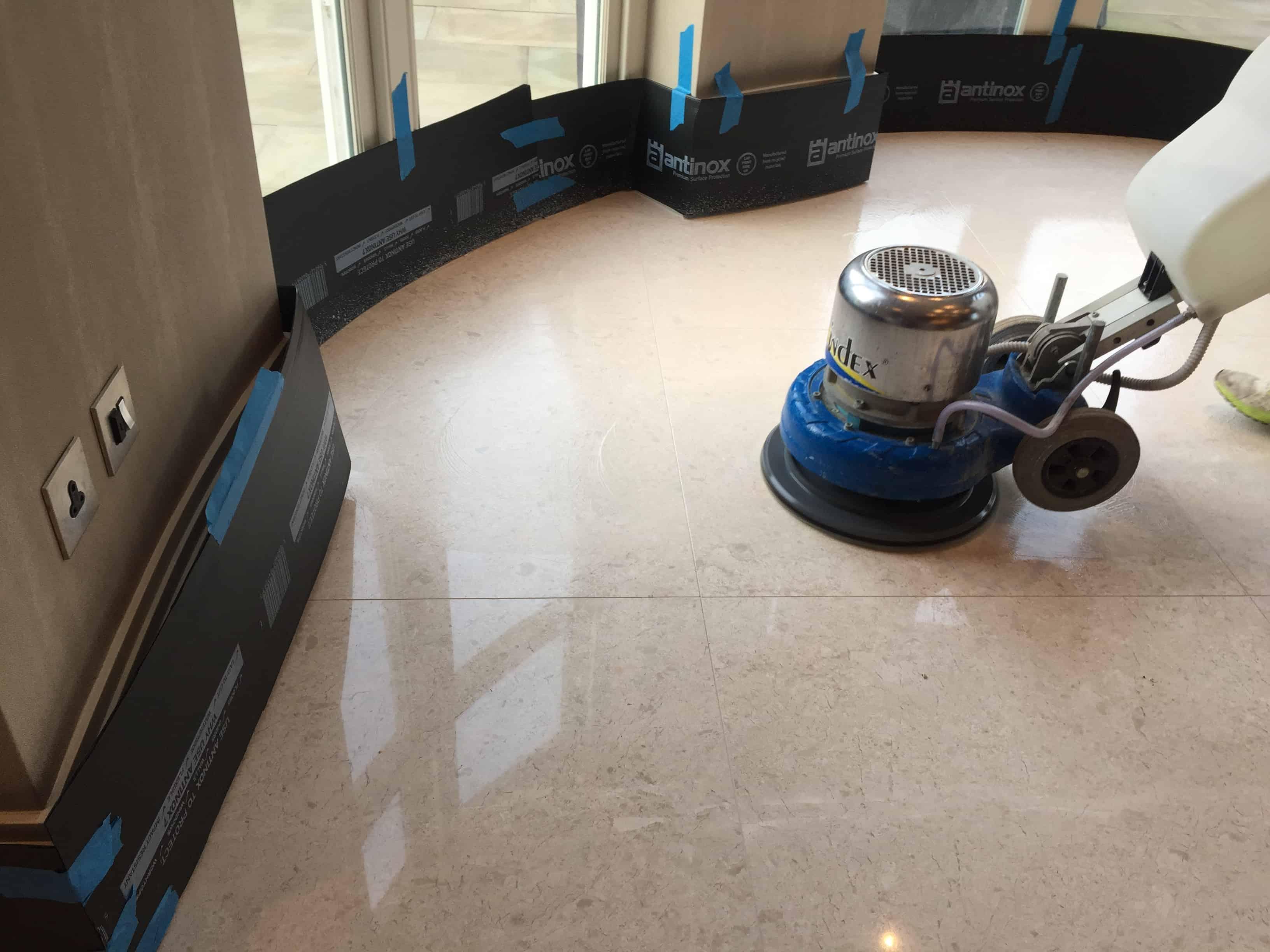 travertine floor restoration stoneace