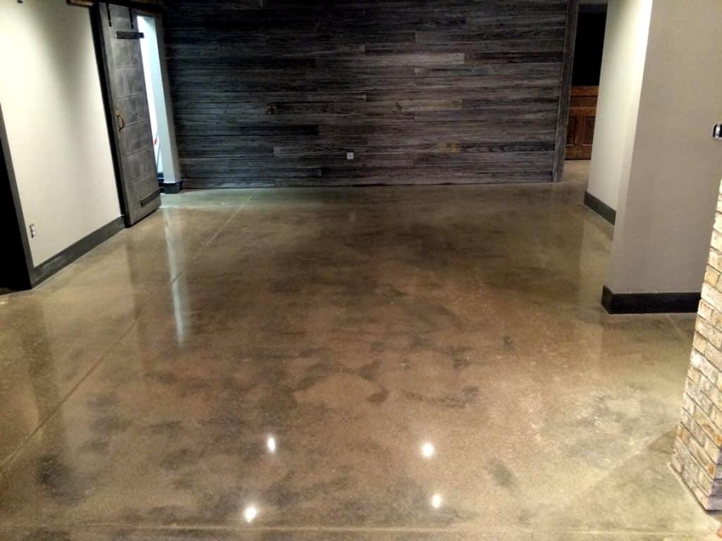 IMConcrete floor polishing services