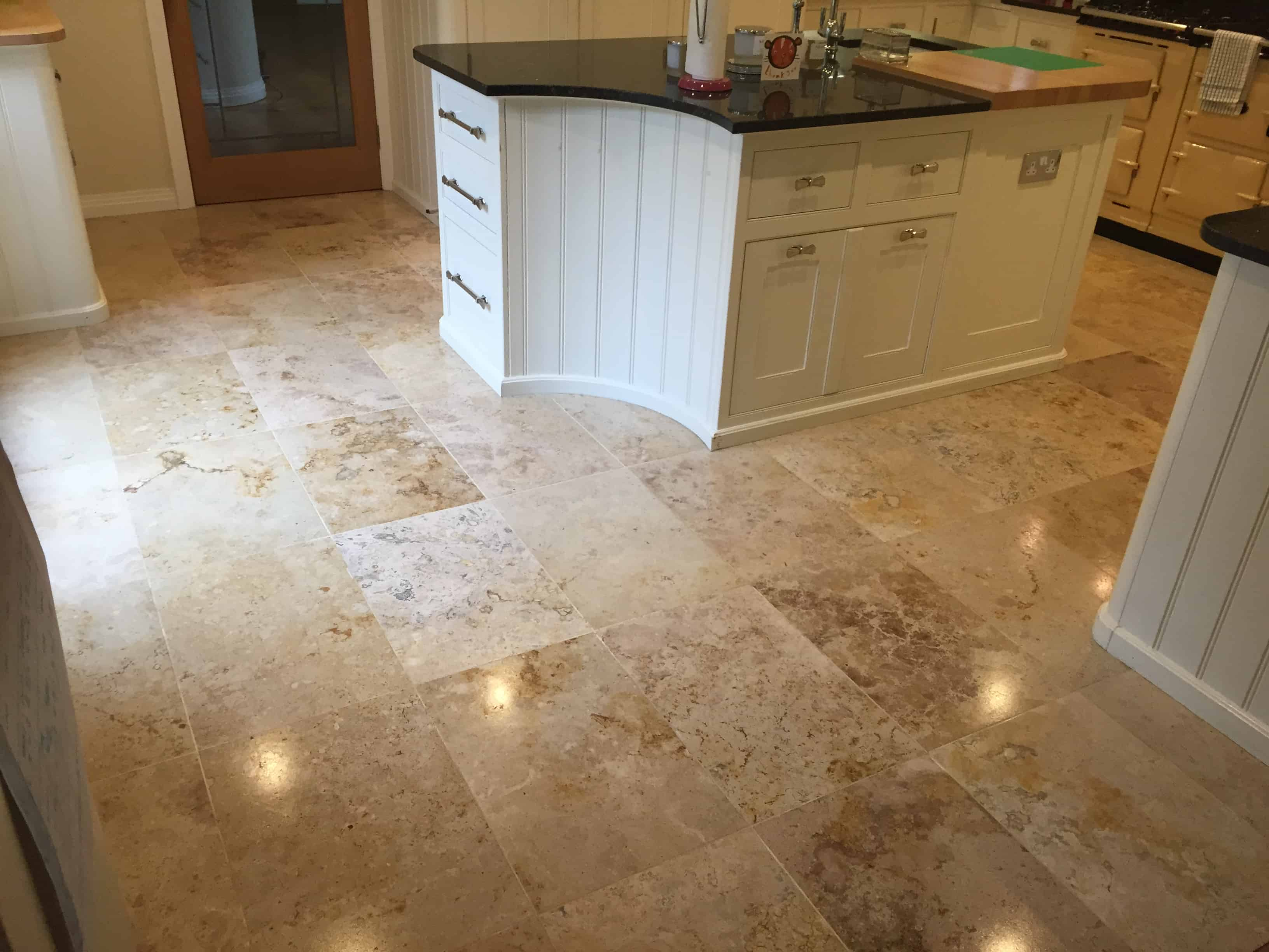 travertine professional floor restoration services London StoneAce