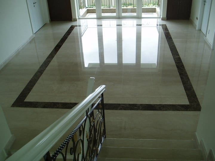 marble tiles restoration